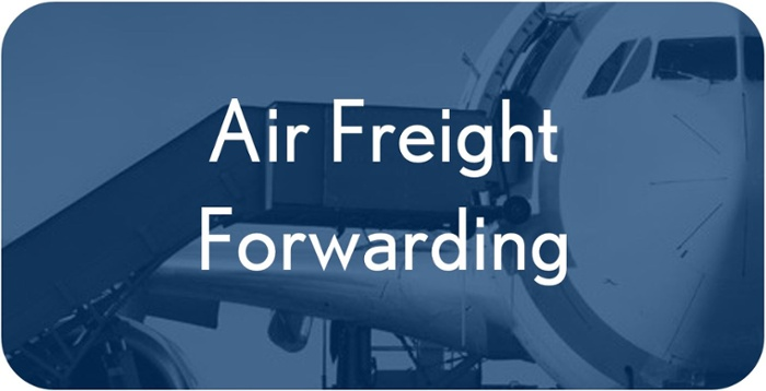 Air freight forwarding quote
