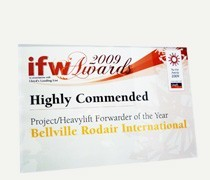 IFW Project/Heavylift Forwarder of the Year (2009)