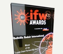 IFW Winner of the Supply Chain Partnership Award (2011)